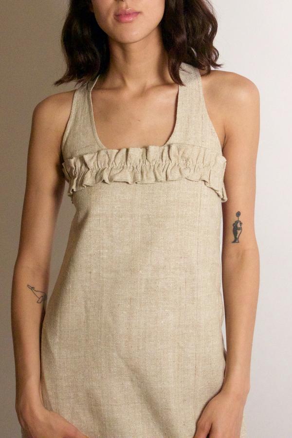 Ajaie Alaie Ciao Bella Dress - Brown Sugar