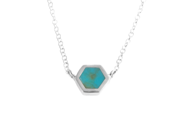 Shahla Karimi Mini Honey Necklace with Turquoise