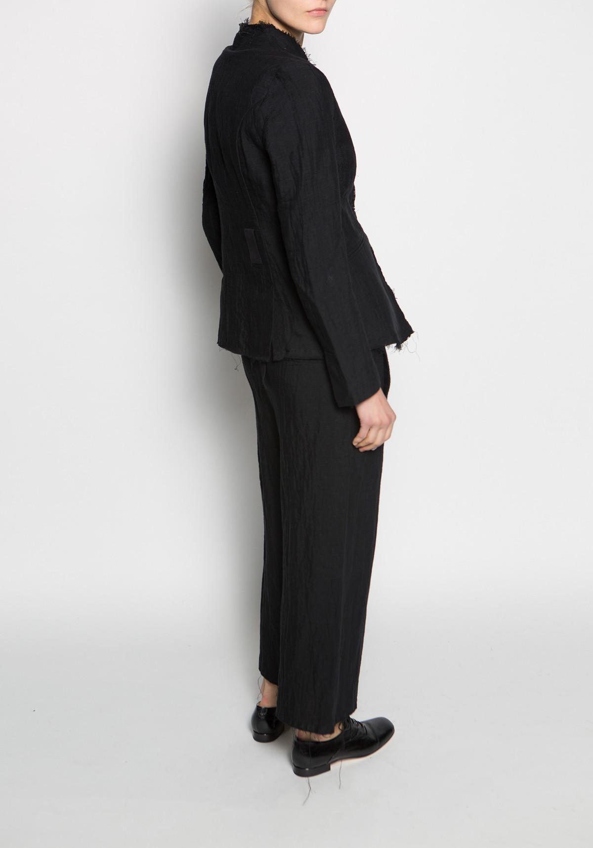 thom krom thom krom high waisted wide leg hose trouser garmentory. Black Bedroom Furniture Sets. Home Design Ideas