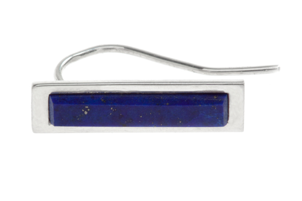 Shahla Karimi Bar Ear Crawler with Lapis