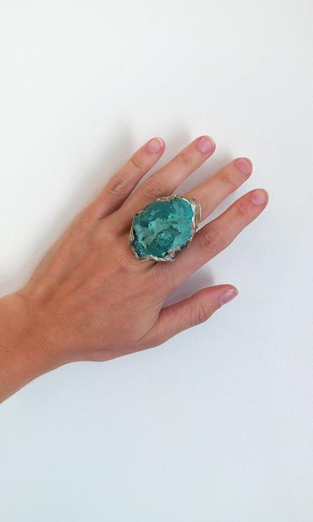 Adina Mills Chrysocolla Ring