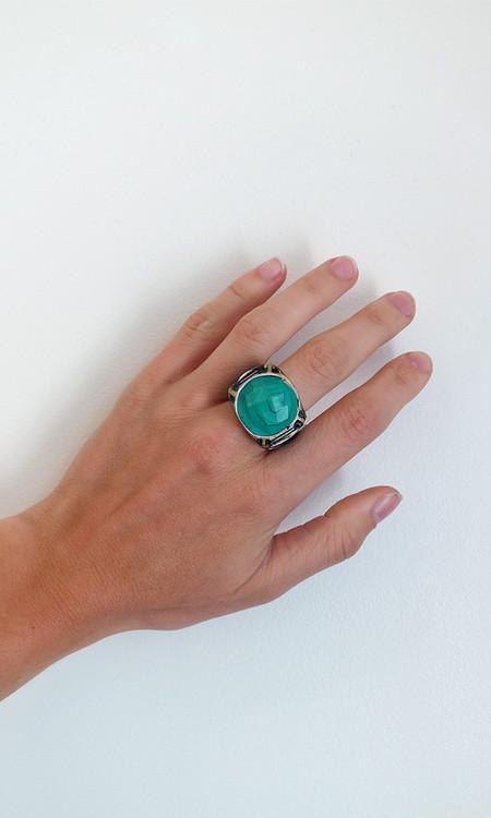 Adina Mills Malachite Ring