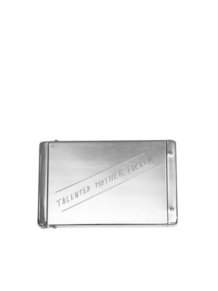 IGWT Flip Top Card Case / Talented Motherfucker (old) / Silver