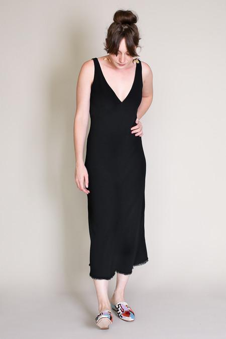 Raquel Allegra Tulip dress in black