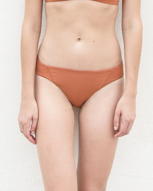 Esby Swim Claudia Bikini Bottom - Carrot