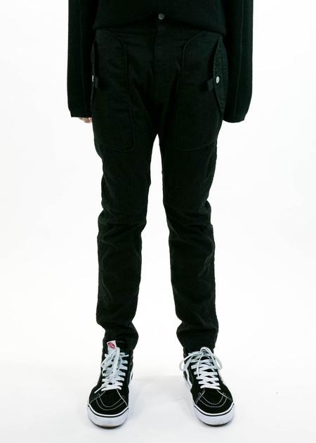 Helmut Lang Black Utility Trouser