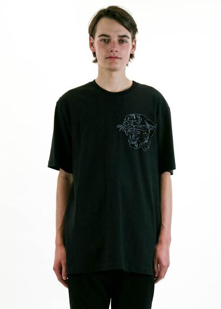 Markus Lupfer Jake Embellished Roaring Panther T-Shirt