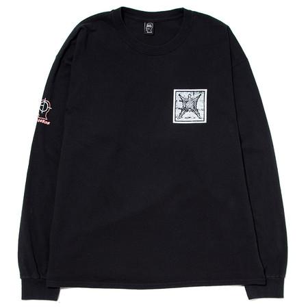BRAIN DEAD SUB DOM LS T-SHIRT FADED / BLACK