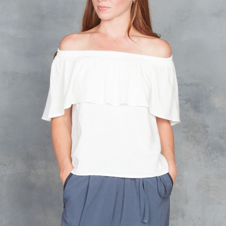 Tysa Tulum Top White