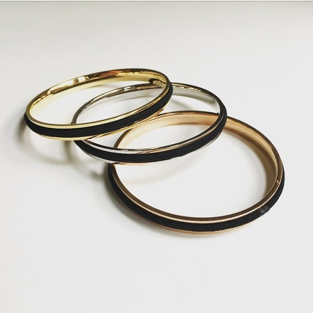 Machete Hair Tie Bangle Set