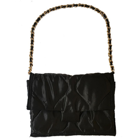 Slow and Steady Wins the Race Nylon Quilted Chain Bag