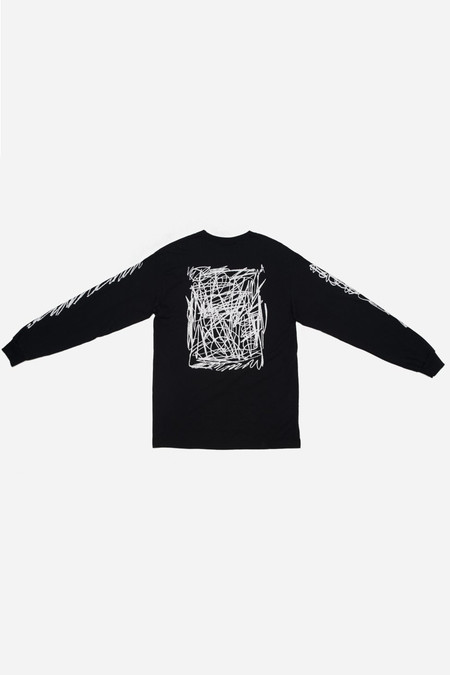 Silent Sound L/S Scribble Tee