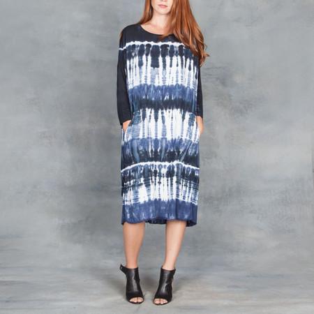 Raquel Allegra Cocoon Dress Twill Jersey