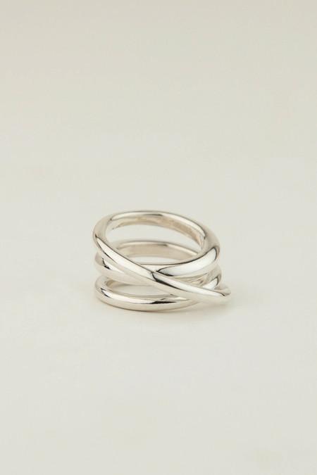 MM Druck Silver Trios Ring