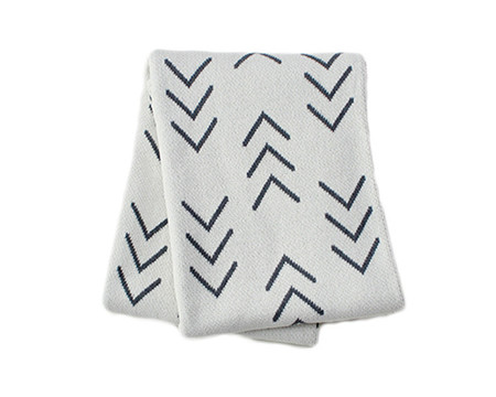 Mood Living Nomad Cotton Throw Blanket
