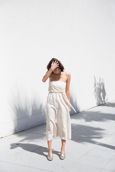 Lacausa her jumpsuit in musk