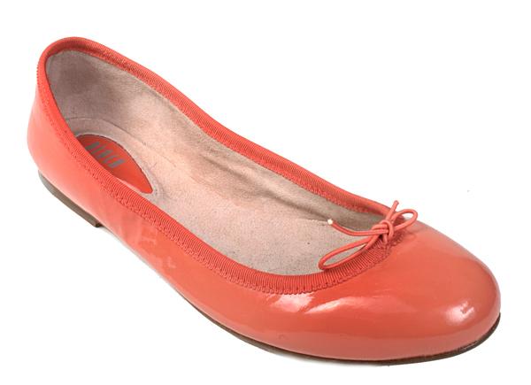 Bloch Patent Ballerina (Coral)