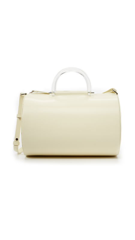 BUILDING BLOCK CYLINDER DUFFEL - IVORY