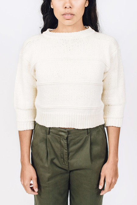 Sessun Arukena Cropped Sweater