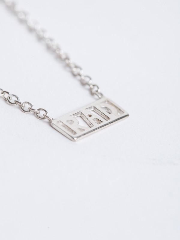 RAD NECKLACE / Silver