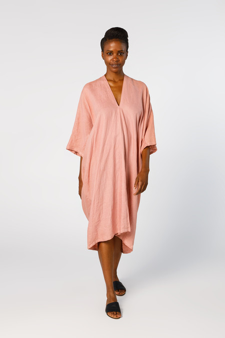 Miranda Bennett Ed. VIII Muse Dress, Linen in Provence