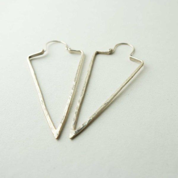 Silversheep Jewelry Dagger Hoops