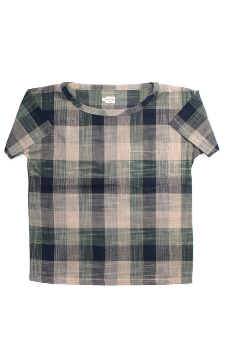 Bridge & Burn Aster Evergreen Plaid