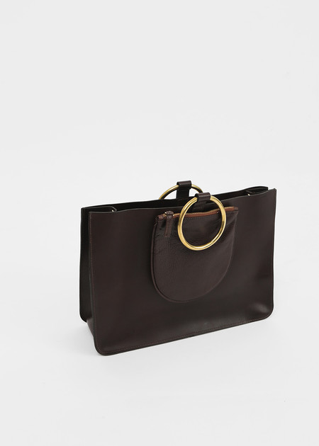 Otaat / Meyers Collective Ring Tote in Chocolate