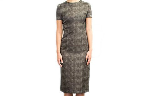 Diarte Dorian Concrete Silk Dress