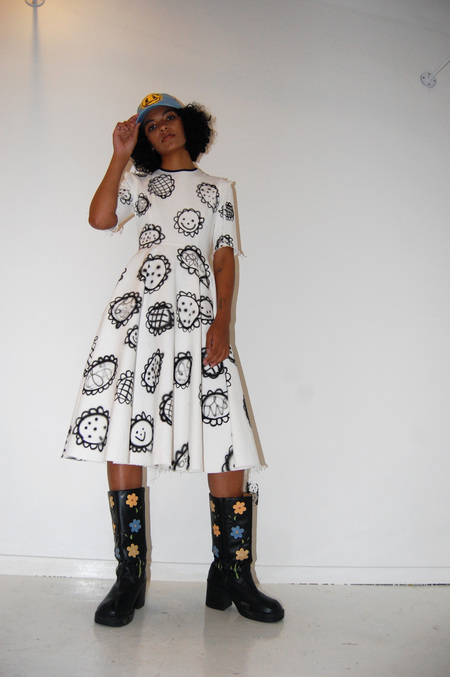 Alexa Stark x Kellen Chasuk Denim Dress