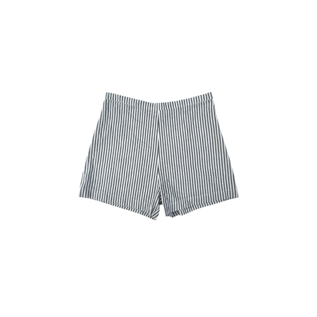 Ali Golden LINEN SHORTS - BLACK STRIPE
