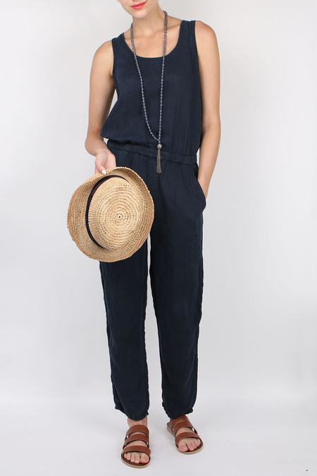 Mother Denim Scooped Jumpsuit