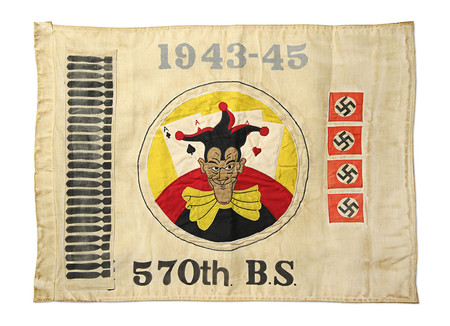 FORTUNE GOODS WWII US ARMY KILL FLAG