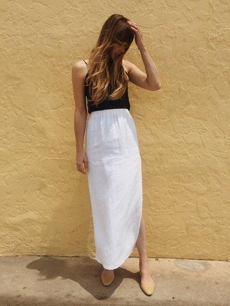 J. Rowan Long Linen Skirt