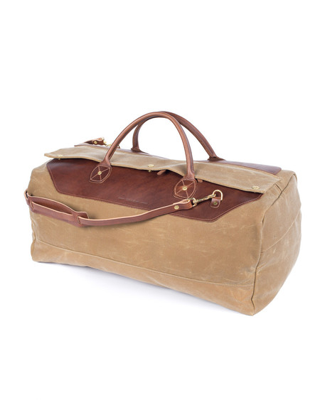 Wood&Faulk High Desert Sage Grand Tourer Weekend Bag