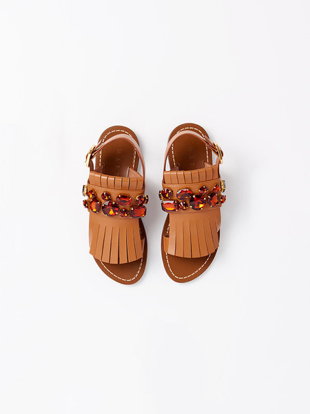 Marni Jewel embellished sandal
