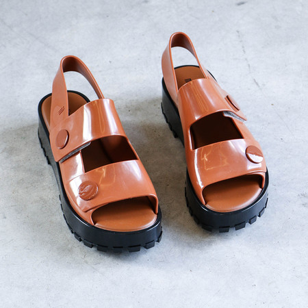 Melissa Strap Sandal in Clay
