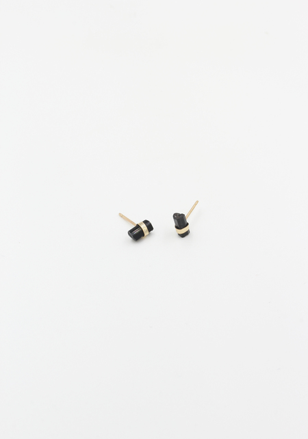 Jene Despain Black Tourmaline Studs