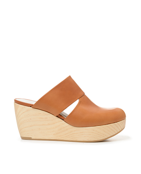 Coclico Italian vegetable-tanned leather clog