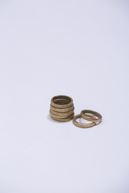 Osei-Duro Wawa Stacking Rings - Set of 3