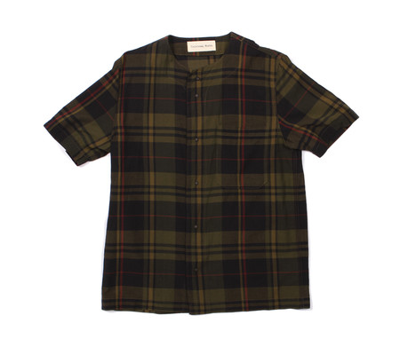 Universal Works Baseball Shirt - Madras Check