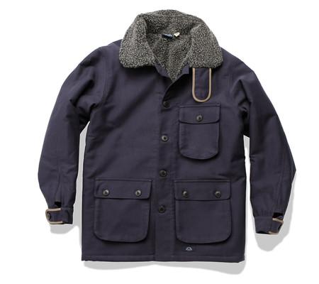 Bleu De Paname Double Comptoir 3/4 Jacket