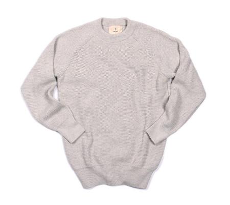 La Paz Rato Cotton Summer Sweater | Grey