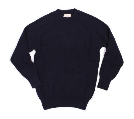 La Paz Rato Cotton Summer Sweater | Navy