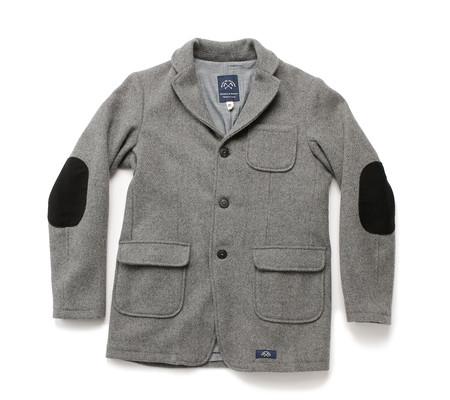 Bleu De Paname Shetland Blazer   Zinc Grey