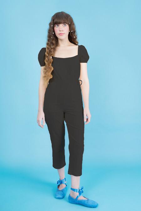 Samantha Pleet Siren Jumpsuit - Black