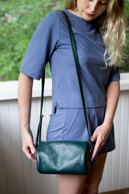 Erin Templeton Squeezebox Bag Small - Forest