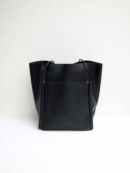 Building Block Pocket Tote, Black