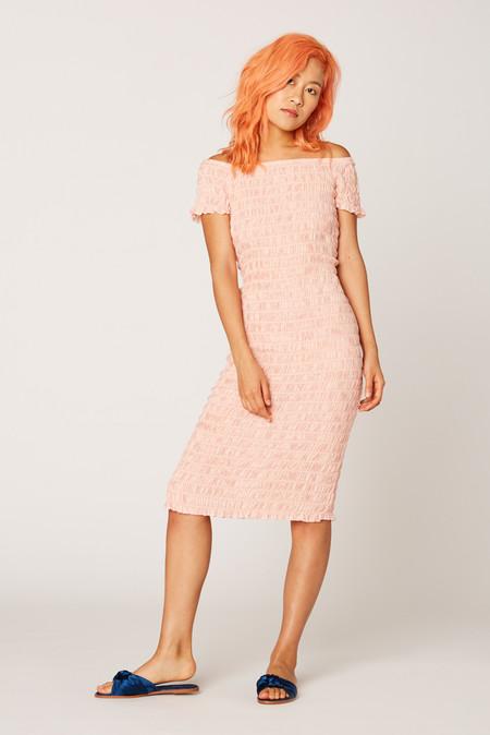 Lacausa Clothing Smocked Dress