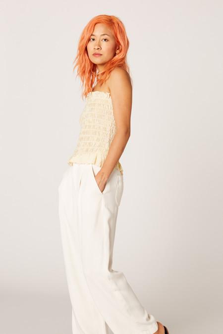 Lacausa Clothing Smocked Top